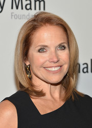 Katie Couric looked ageless with her mid-length bob at the Life is Love Gala.