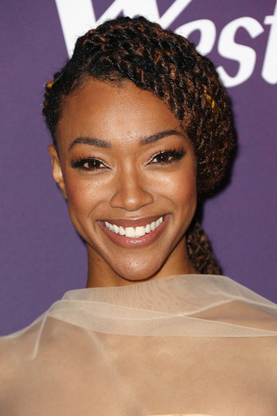 Sonequa Martin-Green Long Braided Hairstyle