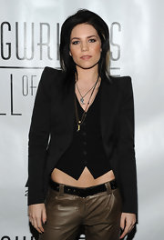 Skylar Grey wore a Claw Amulet necklace to the 2011 Songwriters Hall of Fame Awards.