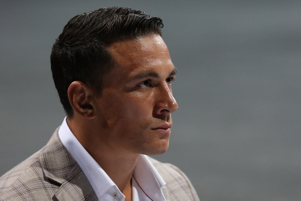 Sonny Bill Williams speaks to media during a press conference at ...