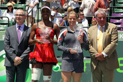 Venus Williams and Kim Clijsters Photo