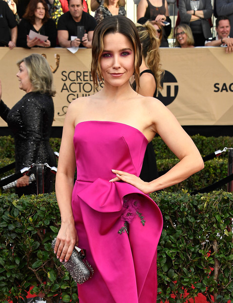 Sophia Bush Beaded Clutch