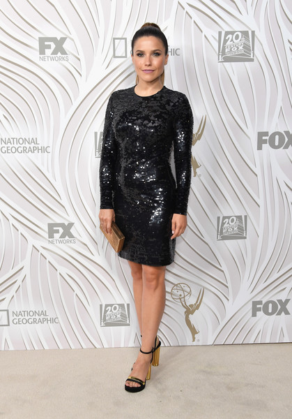 Sophia Bush Sequin Dress
