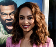 Amber Stevens West sported enviably lush curls at the special presentation of 'Keanu.'
