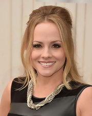 Kelly Stables chose a half up, half down 'do for her look at Spike TV's 'Guys Choice 2013.'