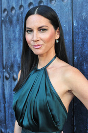 Olivia Munn channeled Cher with this long, straight center-parted hairstyle during Spike TV's Guys Choice 2014.