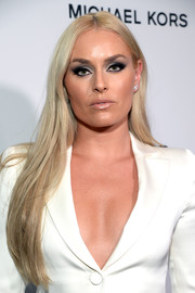 Lindsey Vonn was sexy-goth with her super-smoky eye!