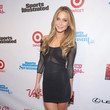 Hannah Davis at the Sports Illustrated Swimsuit Issue Launch Party 2013