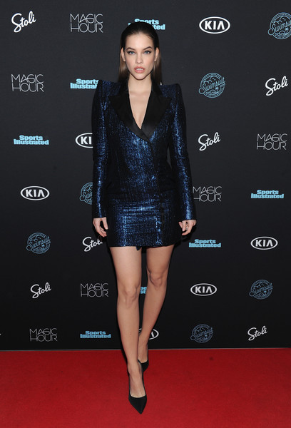 Barbara Palvin in Mugler