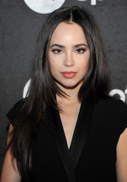 Sofia Carson looked stylish with her long layered cut at the Spotify Best New Artist nominees celebration.