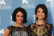 Actresses Vanessa Hudgens and Selena Gomez attend the