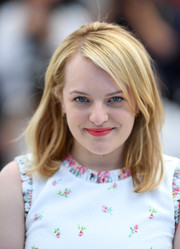 Elisabeth Moss kept it simple and sweet with this mid-length bob with side-swept bangs at the Cannes Film Festival photocall for 'The Square.'