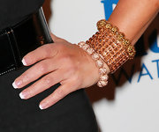 Adrienne Maloof piled on the gold bling during the Southern Style event.