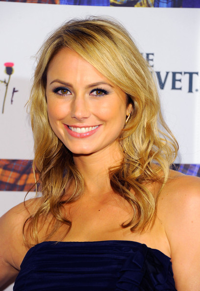 Actress Stacy Keibler attends the 9th Annual Dressed To Kilt charity