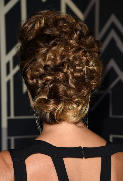 Stacy Keibler Braided Updo
