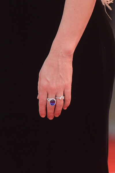 More Pics of Cate Blanchett Short Wavy Cut (1 of 59) - Cate Blanchett Lookbook - StyleBistro [a star is born,finger,nail,hand,ring,gesture,jewellery,leg,fashion accessory,engagement ring,toe,cate blanchett,sala grande,screening,red carpet,detail,venice,italy,red carpet arrivals,venice film festival]