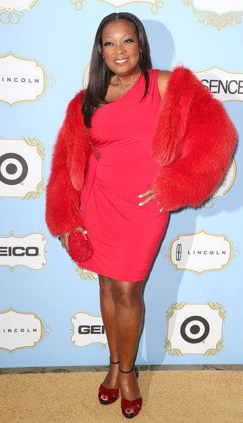 Star Jones Fur Coat