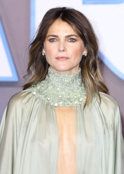 More Pics of Keri Russell Cutout Dress (1 of 9) - Keri Russell Lookbook - StyleBistro [star wars: the rise of skywalker,hair,hairstyle,eyebrow,lip,beauty,layered hair,long hair,neck,fashion,brown hair,keri russell,european premiere,european,england,london,cineworld leicester square,red carpet arrivals,premiere]