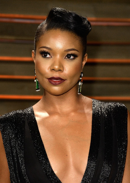 More Pics of Gabrielle Union Pompadour (10 of 12) - Gabrielle Union Lookbook - StyleBistro