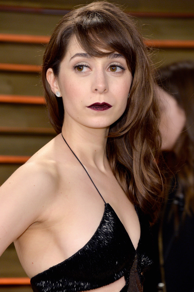 More Pics Of Cristin Milioti Dark Lipstick 2 Of 4