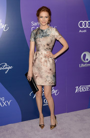 Darby Stanchfield looked ethereal in a floral Valentino dress during the Variety Power of Women event.