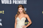 Stefanie Scott Strapless Dress