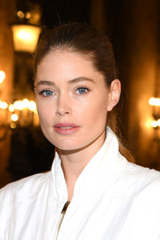 Doutzen Kroes looked so youthful with her brushed-back ponytail at the Stella McCartney Fall 2019 show.