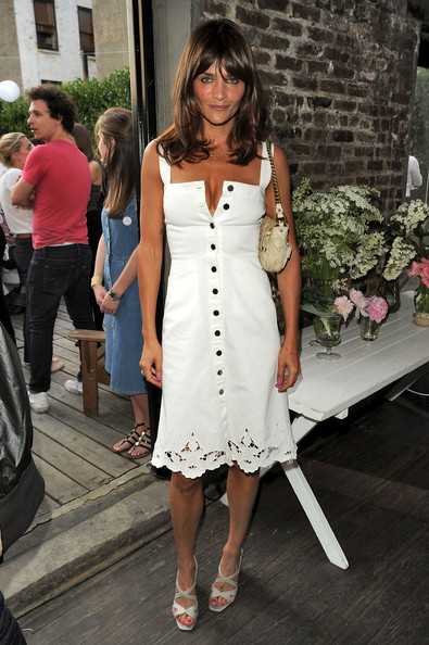 More Pics of Helena Christensen Medium Layered Cut (1 of 2) - Helena Christensen Lookbook - StyleBistro