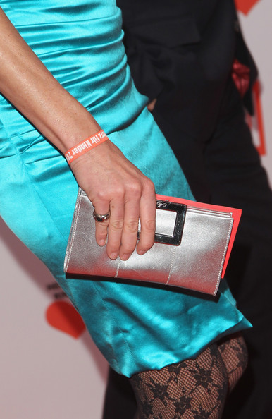 Stephanie von Pfuel Satin Clutch