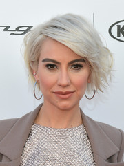 Chelsea Kane looked oh-so-cool with her messy ice-blonde bob at the Janie's Fund Gala.