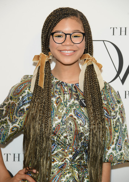 Storm Reid Long Pigtails