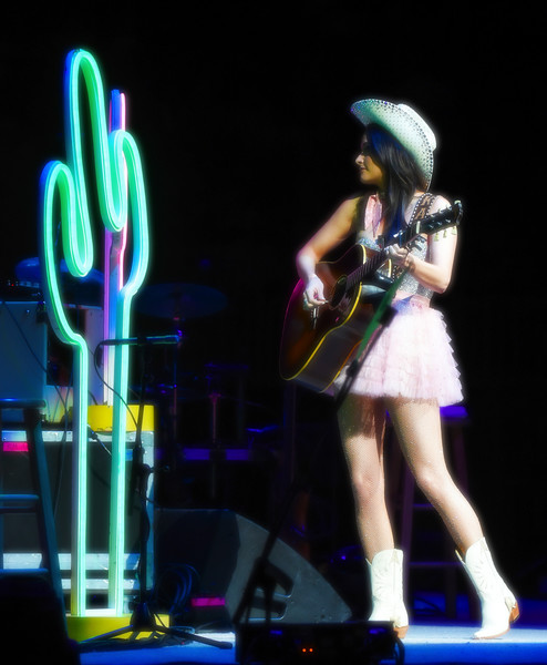 More Pics of Kacey Musgraves Strapless Dress (1 of 38) - Dresses & Skirts Lookbook - StyleBistro [image,strait to vegas,performance,entertainment,performing arts,light,event,public event,stage,performance art,visual effect lighting,singing,kacey musgraves,george strait,filters,strait,t-mobile arena,las vegas,nevada]