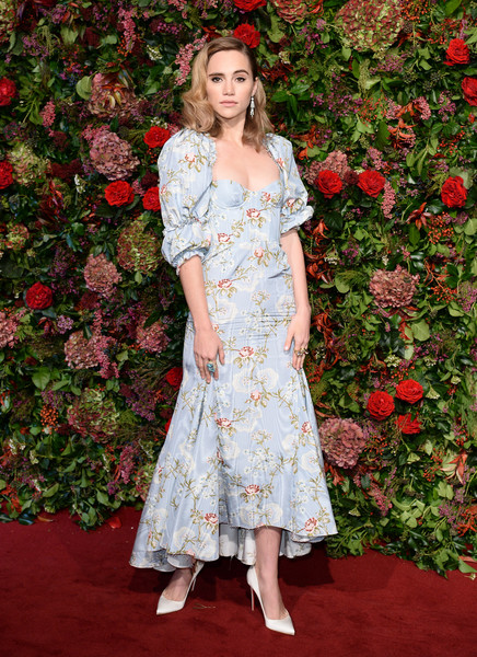 Suki Waterhouse Corset Dress