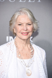 Ellen Burstyn looked stylish with her feathery bob at the New York premiere of 'Sully.'