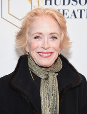 Holland Taylor sported a layered razor cut at the Broadway opening of 'Sunday in the Park with George.'