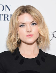 Erin Richards framed her face with short, center-parted waves for the Broadway opening of 'Sunday in the Park with George.'