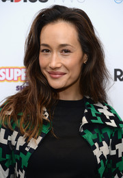 Maggie Q was a fresh beauty with her tousled waves and makeup-free face at the 'Supermensch: The Legend Of Shep Gordon' screening.