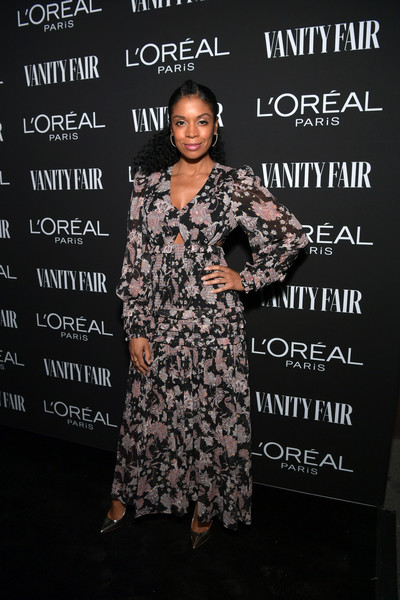 Susan Kelechi Watson Cutout Dress