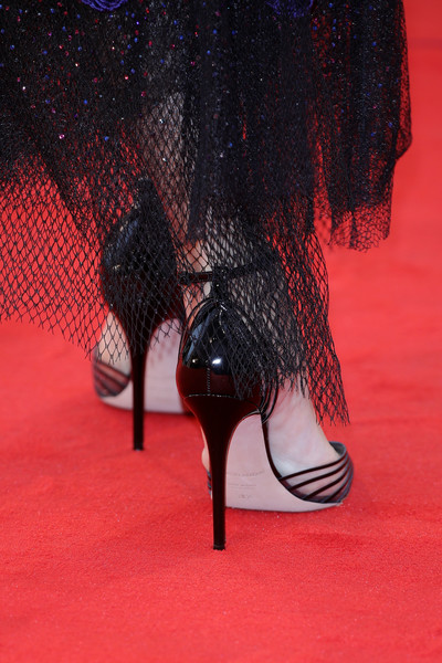 More Pics of Barbara Palvin Pumps (1 of 15) - Heels Lookbook - StyleBistro [suspiria,high heels,footwear,red,shoe,leg,basic pump,court shoe,ankle,carmine,foot,barbara palvin,sala grande,red carpet,detail,venice,italy,suspiria red carpet arrivals,venice film festival,screening]