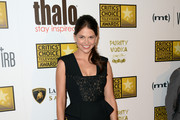 Sutton Foster Little Black Dress