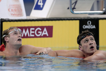 Ryan Lochte Tyler Clary Swimming Day Fourteen - 14th FINA World Championships