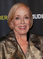 Holland Taylor wore her hair in a sleek bob at the FYC event for 'Mr. Mercedes.'