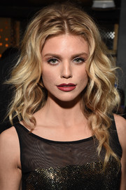 AnnaLynne McCord looked stunning wearing her hair in a waterfall of curls at the TAO, Beauty & Essex, Avenue and Luchini LA grand opening.