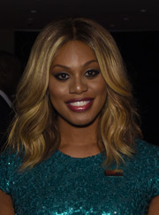 Laverne Cox looked summer-chic with her shoulder-length waves at the Time 100 Gala.
