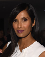 Padma Lakshmi attended the Time 100 Gala sporting a subtle berry lip.