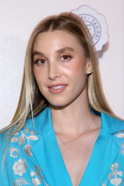 Whitney Port wore a simple straight 'do at the Tacori in Wonderland event.