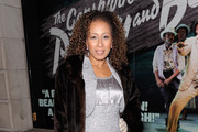 Tamara Tunie Fur Coat