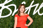 Tanya Burr Off-the-Shoulder Dress
