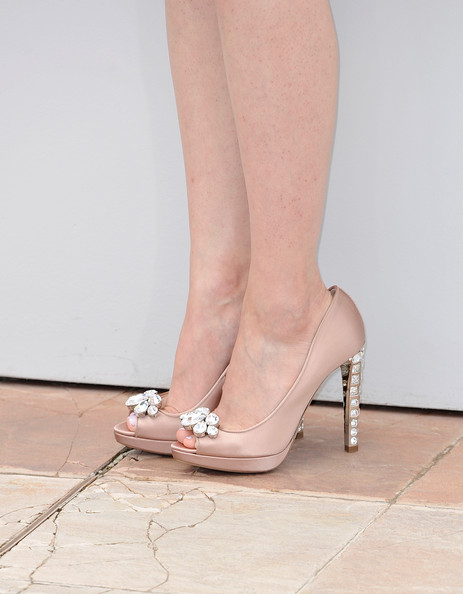 Tao Zhao Peep Toe Pumps