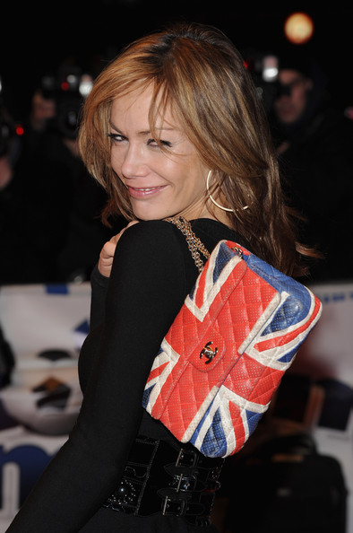 Tara Palmer Tomkinson attends the UK premiere of'The Shouting Men' at Odeon